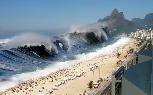 Sognare tsunami