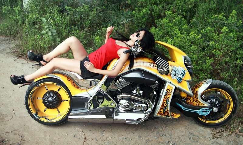 Sognare una moto