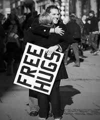 Sognare un abbraccio