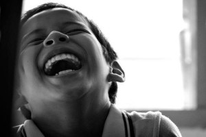Sognare di ridere