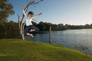 sognare saltare
