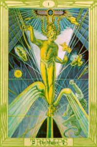 Tarocchi di Crowley Il Mago