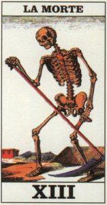 tarocchi morte
